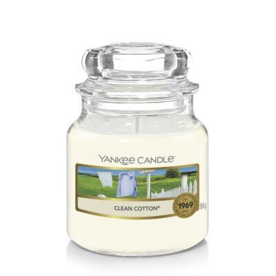 Clean Cotton® kis üveggyertya