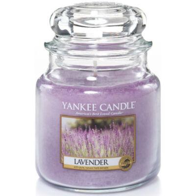 Lavender közepes üveggyertya