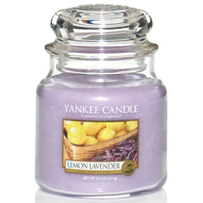 Lemon Lavender közepes üveggyertya