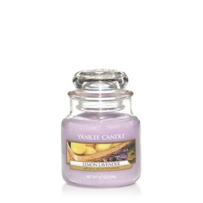 Lemon Lavender kis üveggyertya