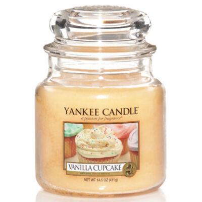 Vanilla Cupcake közepes üveggyertya