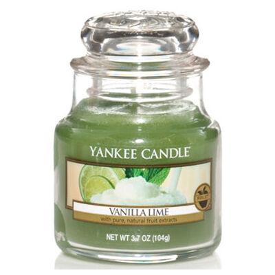 Vanilla Lime kis üveggyertya