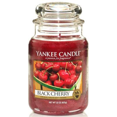 Black Cherry nagy üveggyertya