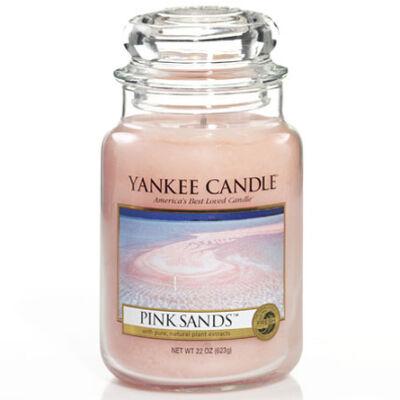 Pink Sands nagy üveggyertya