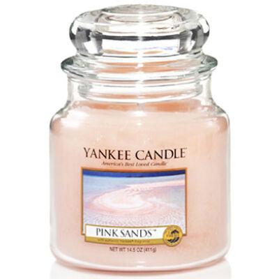 Pink Sands közepes üveggyertya