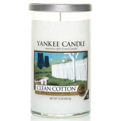 Clean Cotton közepes dekorgyertya
