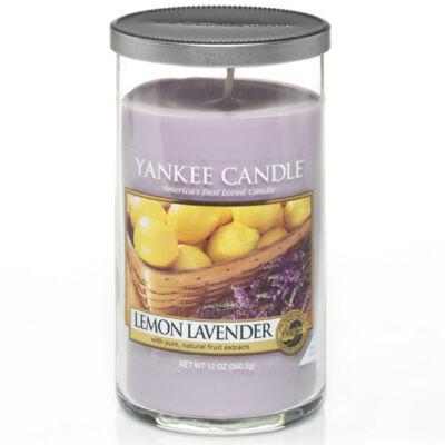 Lemon Lavender közepes dekorgyertya