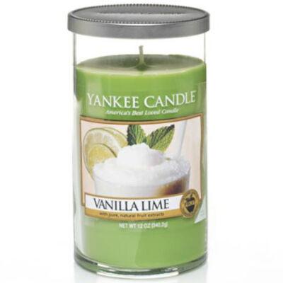 Vanilla Lime közepes dekorgyertya
