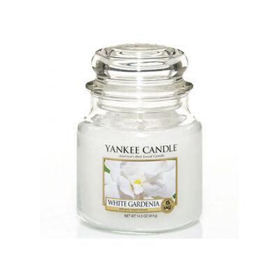 White Gardenia közepes üveggyertya