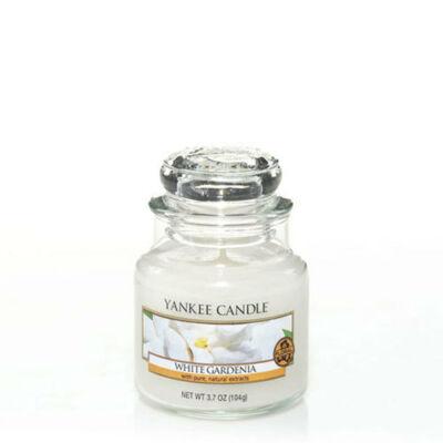 White Gardenia kis üveggyertya