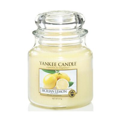 Sicilian Lemon közepes üveggyertya
