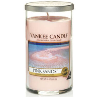 Pink Sands közepes dekorgyertya