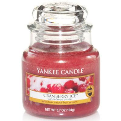 Cranberry Ice kis üveggyertya