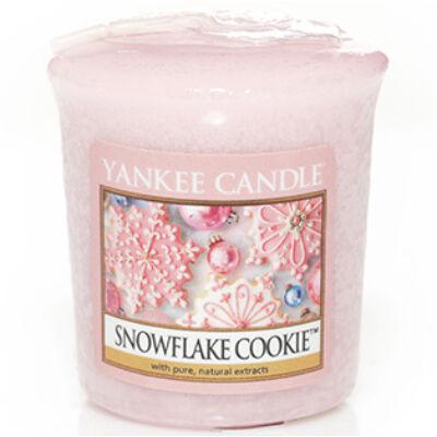 Snowflake Cookie mintagyertya