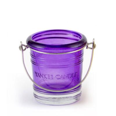 Purple Bucket mintagyertya tartó