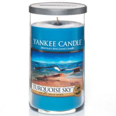 Turquoise Sky közepes dekorgyertya