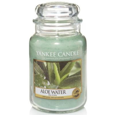 Aloe Water nagy üveggyertya