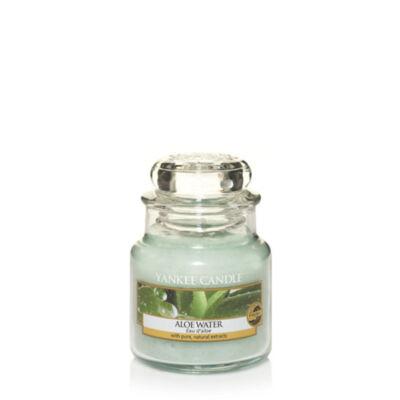 Aloe Water kis üveggyertya