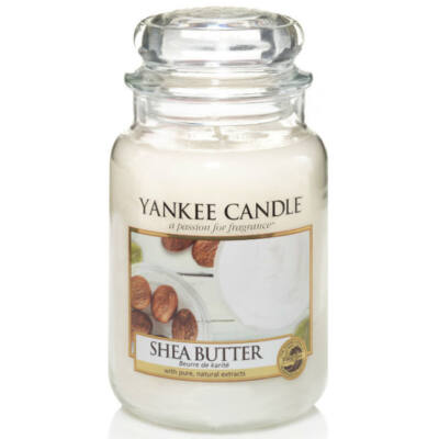 Shea Butter nagy üveggyertya