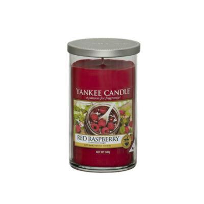 Red Raspberry közepes dekorgyertya