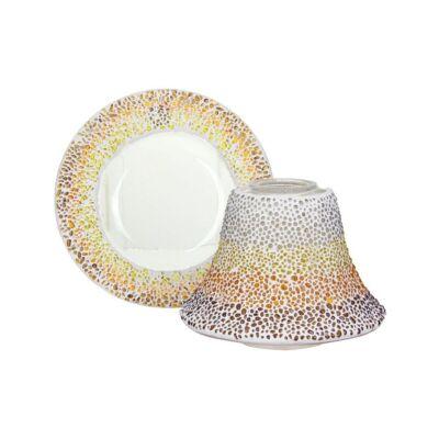 Sunset Mosaic nagy búra és tányér
