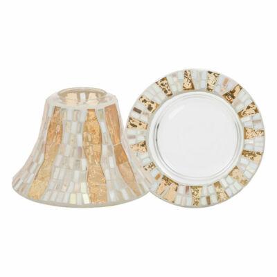 Gold Wave Mosaic nagy búra és tányér