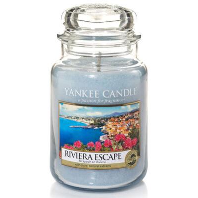 Riviera Escape nagy üveggyertya