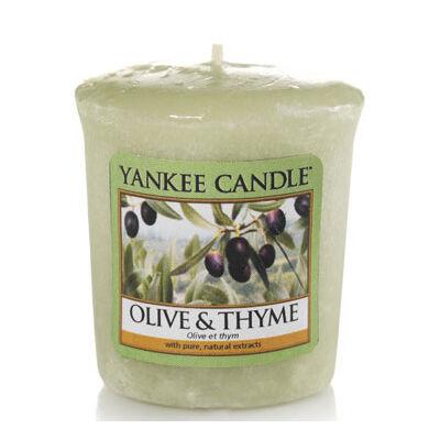 Olive & Thyme mintagyertya