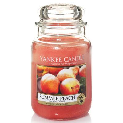 Summer Peach nagy üveggyertya