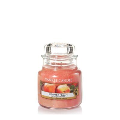 Summer Peach kis üveggyertya