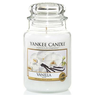 Vanilla nagy üveggyertya