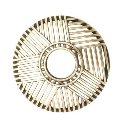 Crosshatch Brass Illuma-Lid® korona