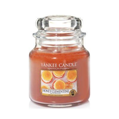 Honey Clementine közepes üveggyertya