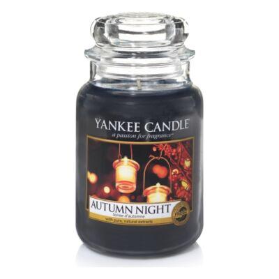 Autumn Night nagy üveggyertya