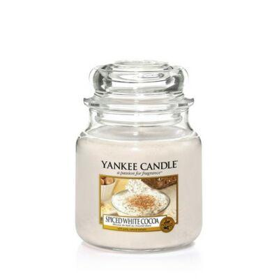 Spiced White Cocoa közepes üveggyertya