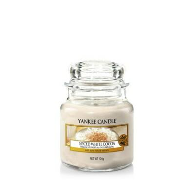 Spiced White Cocoa kis üveggyertya