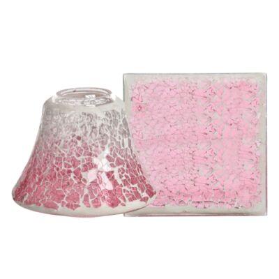 Pink Fade kis búra és tányér