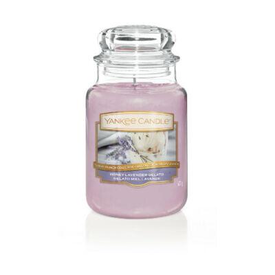 Honey Lavender Gelato nagy üveggyertya