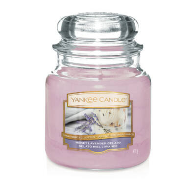 Honey Lavender Gelato közepes üveggyertya