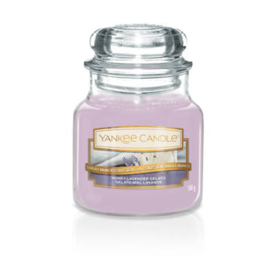 Honey Lavender Gelato kis üveggyertya