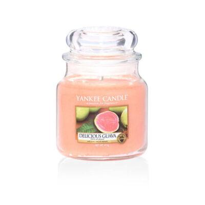 Delicious Guava közepes üveggyertya