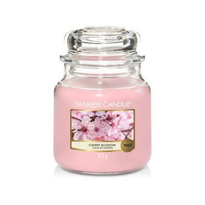 Cherry Blossom közepes üveggyertya