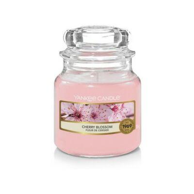 Cherry Blossom kis üveggyertya