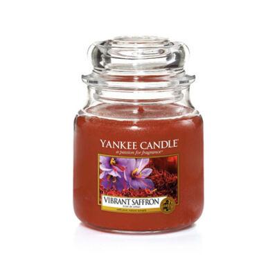 Vibrant Saffron közepes üveggyertya