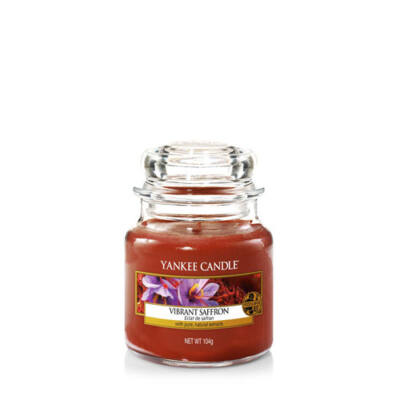 Vibrant Saffron kis üveggyertya