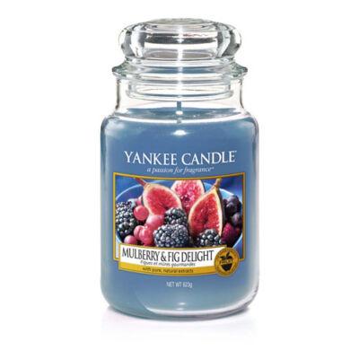 Mulberry & Fig Delight nagy üveggyertya