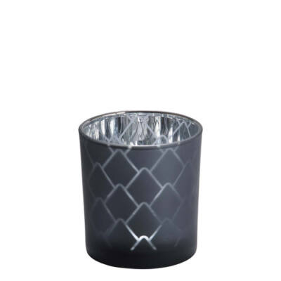 Modern Pinecone Teal mintagyertya tartó