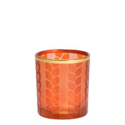 Maize & Metal Orange mintagyertya tartó
