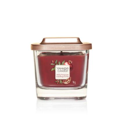 Holiday Pomegranate kis üveggyertya