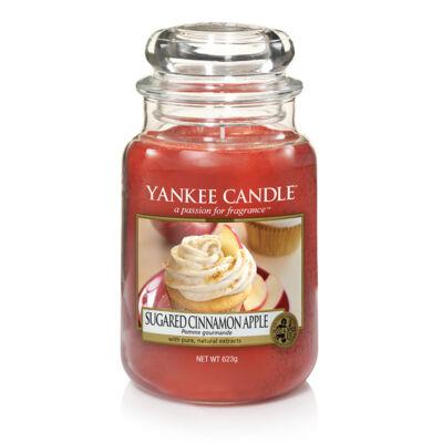 Sugared Cinnamon Apple nagy üveggyertya